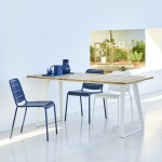 Cane-line Indoor Copenhagen Teak Extending Table