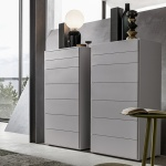 Bevelled Tall Chest of Drawers