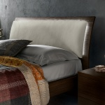 Curve Upholstered Bed