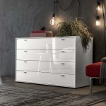Linear With Handles Chest of Drawers