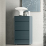 Linear Tall Chest of Drawers
