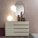 Curved Chest of Drawers
