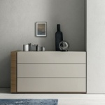Groove Chest of Drawers