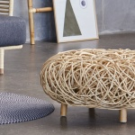 Cane-line Indoor Loop Footstool