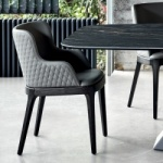 Cattelan Italia Magda Couture Chair With Arms