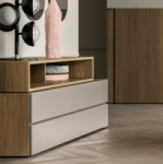 Symmetry Alta Open Chest of Drawers