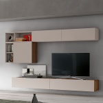 Linear Wall System Composition 020