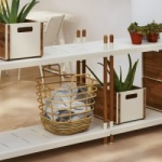 Cane-line Indoor Sweep Rattan Basket