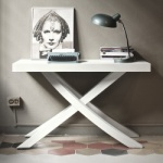 Bontempi Casa Artistico Extending Console Table