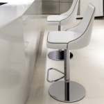 Bontempi Casa Clara Gaslift Bar Stool