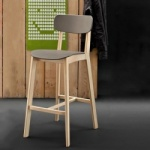 Calligaris Cream Bar Stool