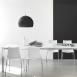 Connubia Calligaris Eminence Glass With Metal Legs Table
