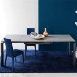 Calligaris esteso table wood legs - Calligaris balances ...