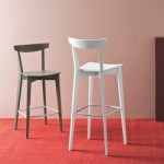 Connubia Calligaris Evergreen Bar Stool