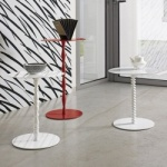 Bonaldo Vanity, Fortuny & Harry Side Tables