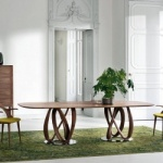 Porada Infinity Wood Table