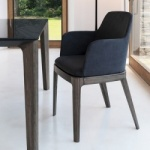 Bontempi Casa Margot Chair Wood Legs