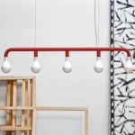 Calligaris Code Pom Pom Suspension Light