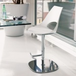 Bontempi Casa Shark Gaslift Bar Stool