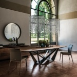 Cattelan Italia Skorpio Wood Table