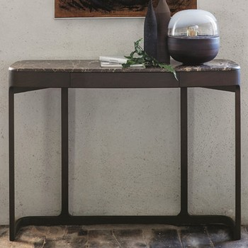 Porada Blush Console Table