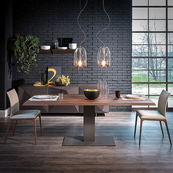 Cattelan Italia Elvis Wood Drive Table