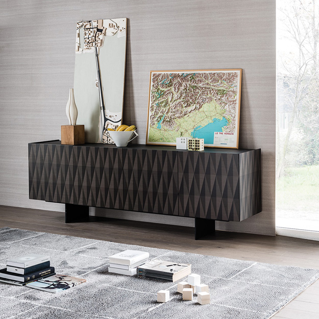cattelan italia arabesque sideboard. Black Bedroom Furniture Sets. Home Design Ideas