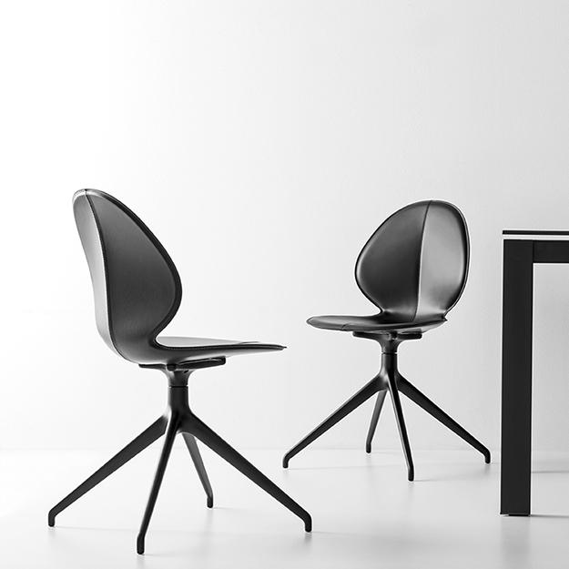 Calligaris Basil Spider Leg Chair