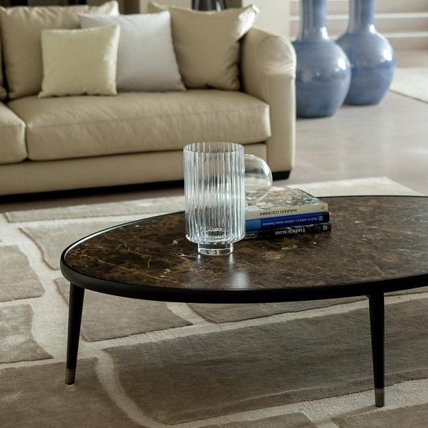 Parq Oval Coffee Table: Porada Bigne Oval Coffee Table
