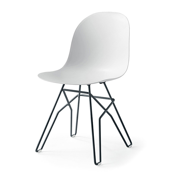 Ex Display Set Of Four Calligaris Academy Chairs Angular Leg