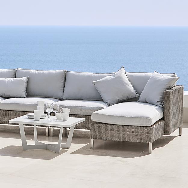 Marvelous Cane Line Connect Corner Sofa Spiritservingveterans Wood Chair Design Ideas Spiritservingveteransorg