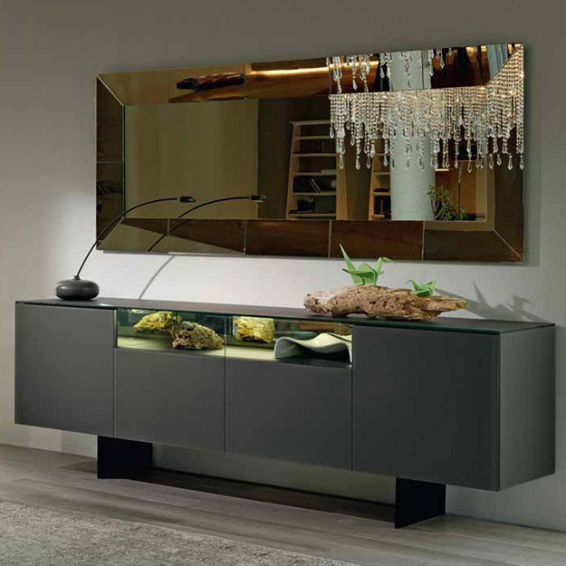 cattelan italia continental sideboard. Black Bedroom Furniture Sets. Home Design Ideas