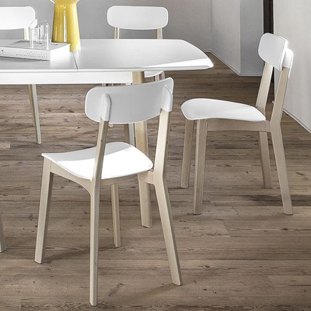 Calligaris cream chair for 10 table cream