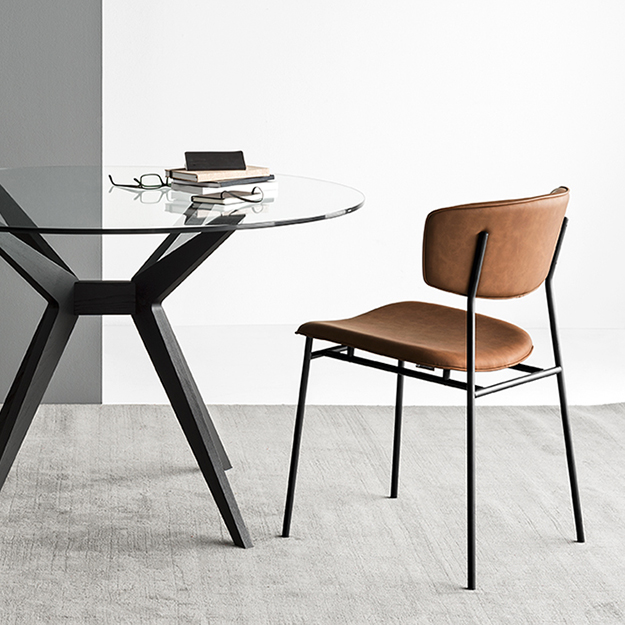 calligaris fifties chair. Black Bedroom Furniture Sets. Home Design Ideas