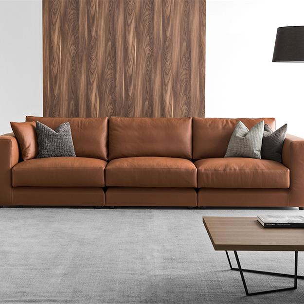 calligaris kora high sofa