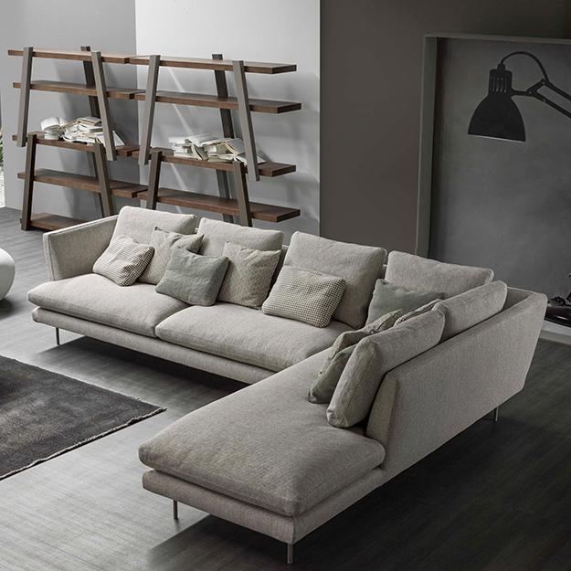 Divano Angolare Design Lars Bonaldo : Bonaldo lars sofa