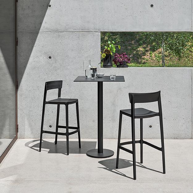 Peachy Calligaris Skin Outdoor Bar Stool Andrewgaddart Wooden Chair Designs For Living Room Andrewgaddartcom
