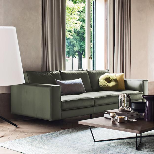 Calligaris Square High Sofa