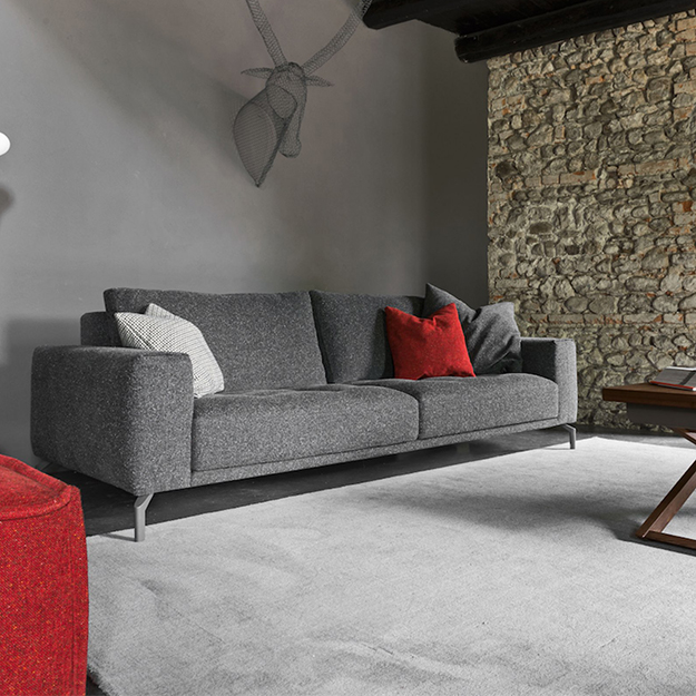 Calligaris Vegas High Sofa