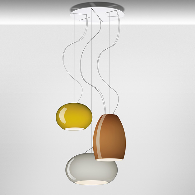New Buds Foscarini.Foscarini Buds Suspension Cluster