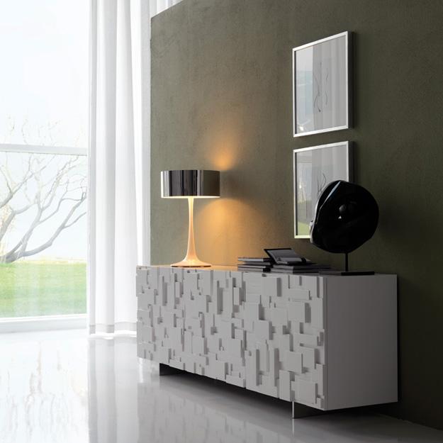 cattelan italia labyrinth 3 door sideboard. Black Bedroom Furniture Sets. Home Design Ideas