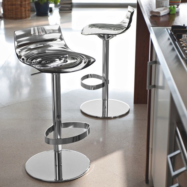 calligaris l eau gaslift stool