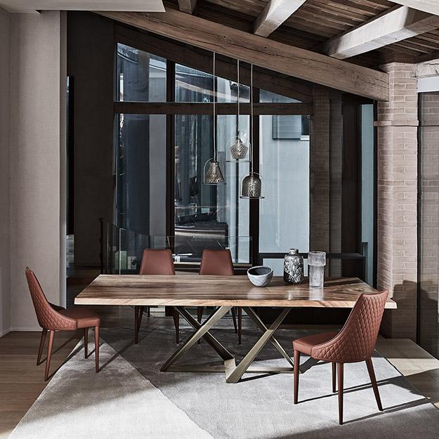 bontempi casa millennium wood table. Black Bedroom Furniture Sets. Home Design Ideas