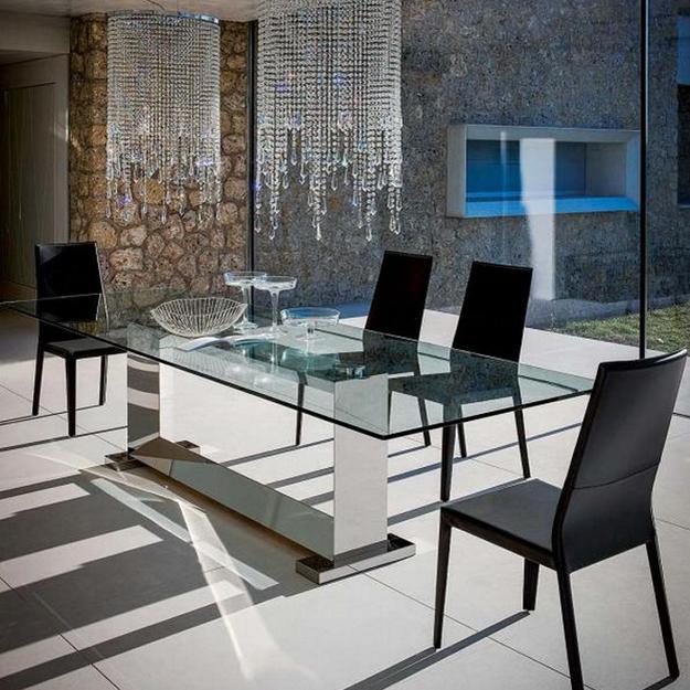 Cattelan Italia Monaco Table Stainless Steel. Monaco Dining Table Cattelan Italia. Home Design Ideas