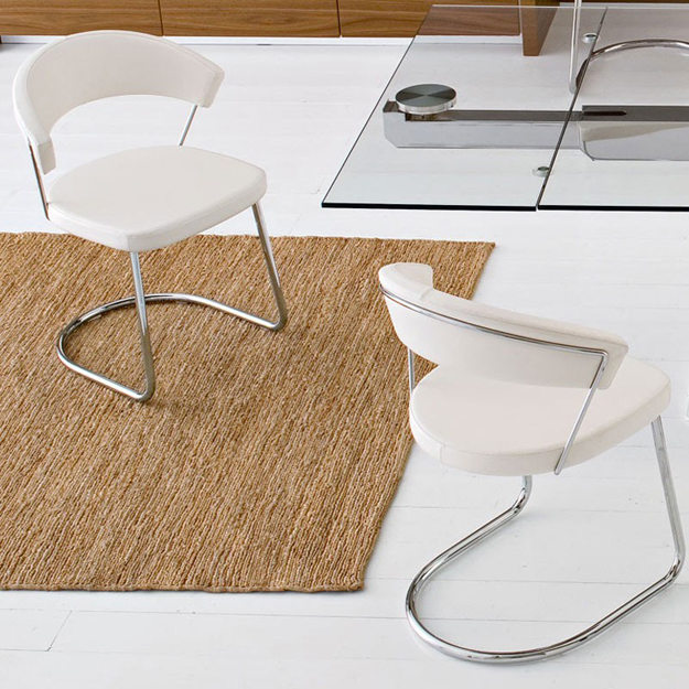 Calligaris New York Chair Cantilever Leg