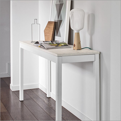calligaris snap extending console table. Black Bedroom Furniture Sets. Home Design Ideas