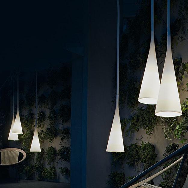 Foscarini uto outdoor suspension light - Commercial exterior lighting manufacturers ...