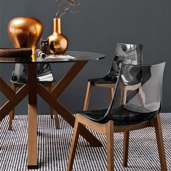 Connubia Calligaris Led Chair Wood Legs