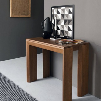 Calligaris New Mistery Wood Extending Console Table