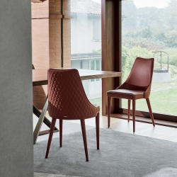 Bontempi Casa Clara Quilted Chair